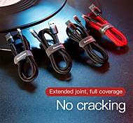 economico -BASEUS Micro USB Cavi Alta velocità Carica rapida Trasmissione dati 1.5 A 2.0m (6,5 piedi) PVC Per Samsung Xiaomi Cellulare Appendini per cellulare
