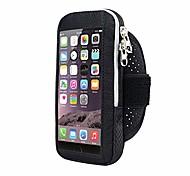 abordables -sac de bras étanche escalade de montagne jogging armd cas gym cyclisme nylon course exercice entraînement fitness écran tactile téléphone portable pack (lblack)