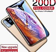 abordables -Verre trempé à couverture complète 200D pour iPhone 11 Pro X XR XS Max Verre iPhone 11 Pro Protecteur d'écran Verre de protection sur iPhone 11, iPhone 11 Pro Max, Film Hydrogel