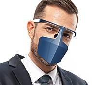 economico -10 pz maschera isolante protettiva coprente il viso anti-appannamento schizzi e anti-virus di goccioline e maschera di isolamento antipolvere