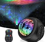abordables -projecteur d'étoile projecteur de veilleuse regemoudal avec nébuleuse LED nuage galaxie projecteur étoilé lumière intégrée bluetooth haut-parleur de musique stéréo pour enfants adultes chambre / fête
