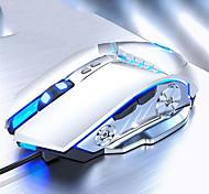 abordables -souris de jeu souris d'ordinateur filaire 3500 dpi mouvement rapide ergonomique optique respiration lumière souris mécanique ordinateur portable pc souris