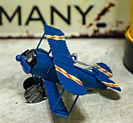 economico -ferro antico piccolo modello di aereo ornamento creativo decorazione di interni per auto decorazione da tavolo accessori per aerei in ferro