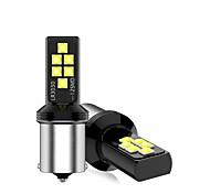 abordables -1 pièces LED voiture lumière de secours T20 T15 ampoule de frein 1156 feux de recul 12V blanc jaune rouge clignotants ampoules lampes de réserve feu de freinage pour voiture