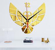 abordables -Miroir spécial art mural acrylique horloge murale autocollants montre à quartz enfants regarder nouveau décor à la maison moderne horloges de bricolage