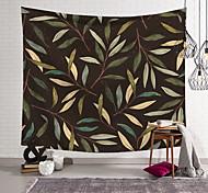 abordables -Tapisserie murale art décor couverture rideau suspendu maison chambre salon décoration polyester plante branches feuille