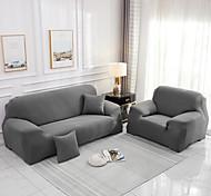 abordables -1 pièce housse de canapé housse de canapé protecteur de meubles housse extensible souple tissu jacquard spandex super fit pour 1 ~ 4 canapé-coussin et canapé en forme de L, facile à installer (1