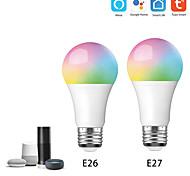 economico -smart home google / alexa luce di controllo vocale wifi smart bulb