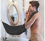 abordables -tablier barbe, bavoir attrape barbe avec ventouses pour miroir. moyen simple et efficace de garder votre évier propre. cadeau parfait de capteur de cheveux de rasage de soins de la barbe pour homme,