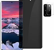 economico -telefono Proteggi Schermo Samsung S21 S21 Plus S21 Ultra S20 S20 Plus Vetro temperato 2 pz Alta definizione (HD) Durezza 9H Anti-graffi Protezione dell'obiettivo della fotocamera Appendini per