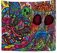abordables -mandala bohème tapisserie murale art décor couverture rideau pique-nique nappe suspendue maison chambre salon dortoir décoration boho hippie polyester magie coloré dessin animé bizarre