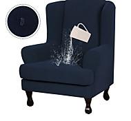 abordables -2 pièces housse de canapé meubles en tissu jacquard extensible haute housse étanche rester en place élasthanne souple forme fit aile dossier housses de fauteuil antidérapantes lavable en machine