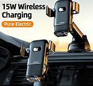 economico -joyroom jr-zs216 15w caricatore wireless qi supporto per telefono per auto supporto di ricarica rapida a infrarossi intelligente supporto per telefono auto per supporto per telefono iphone