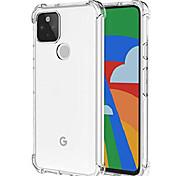 economico -per custodia google pixel 5, custodia morbida in gomma antiurto tpu anti-caduta custodia morbida per telefono google pixel 5 (trasparente)