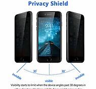 economico -protezione per schermo privacy per iphone 8 plus / 7 plus - protezione per schermo in vetro temperato anti-spia curvo 3d per apple iphone 8 plus / 7 plus, 5,5 pollici - nero