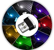 abordables -Accessoires de voiture intérieur mini voiture atmosphère lumière usb sans fil led voiture intérieur néon lampe ambiante voiture intérieur bijoux