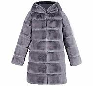 economico -elegante donna pelliccia sintetica sintetica morbida calda gilet senza maniche gilet giacca gilet cappotto esterno (2xl, grigio 4)