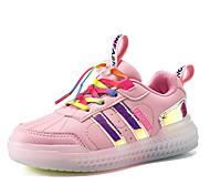 abordables -Garçon Fille Basket LED Chaussures Polyuréthane Chaussures éclairantes Petits enfants (4-7 ans) Grands enfants (7 ans et +) Quotidien Marche LED Blanche Noir Bleu Automne Printemps