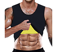 abordables -Sweat Gilet Gilet d'Entraînement de Taille Débardeur en néoprène Des sports Néoprène Exercice Physique Exercice & Fitness Sans zip Exercice de Sudation Amincissant Perte de poids Fat Tummy Brûleur