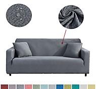 abordables -Housse de canapé Couleur Pleine Relief Polyester Literie
