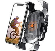 abordables -Titulaire Moto / Vélo Support de support Support de téléphone pour vélo et moto Rotation 360 ° Supporter ABS