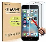 """economico -Pellicola salvaschermo [confezione da 2] per iphone 8 7 6s 6, suker 2.5d premium hd pellicola protettiva in vetro temperato antigraffio trasparente antigraffio per apple iphone 8/7 / 6s / 6 4.7 """""""