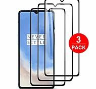 abordables -[Pack de 3] pour protecteur d'écran oneplus 7t, verre trempé [anti-rayures] [sans bulles] Étui de dureté 9h compatible avec oneplus 7t