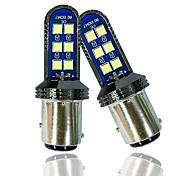abordables -otolampara 2 unités ampoule led drl 1157 12w 3030 projecteur de lentille supérieure bay15d ampoule led 1/1 ampoule halogène taille 50000hrs durée de vie installation plug and play voiture p21 / 5w