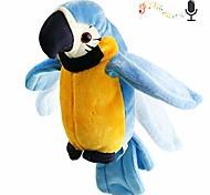 abordables -perroquet en peluche parlant répétez ce que vous dites oiseau électronique parlant animal de compagnie agitant des ailes jouet en peluche cadeau animé interactif pour enfants garçons filles vacances