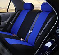 economico -set coprisedili per auto per camion furgone suv - compatibile con airbag in poliestere (9 pezzi azzurri)