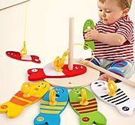 economico -legno montessori pesca colorata colonna digitale gioco giocattoli educativi precoci bagno tempo per bambini bambino neonati maschi ragazze, vasca da bagno cucchiaio - 1 #
