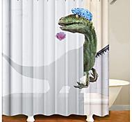 abordables -salle de bain rideaux de douche contemporain polyester imperméable