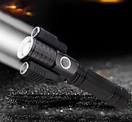 abordables -Ensemble de feux arrière de phare de vélo de 1000 lumens - Conception de robot spatial 3 en 1 Rechargeable par USB 4 feux de vélo à mode d'éclairage avant et arrière pour tous les vélos
