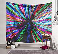 abordables -Tapisserie murale art décor couverture rideau suspendu maison chambre salon décoration polyester fibre couleur lignes natation orchidée pavillon conception