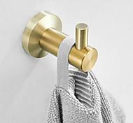 economico -gancio per accappatoio nuovo design adorabile ganci da bagno materiale in acciaio inossidabile montato a parete dorato 2 pezzi