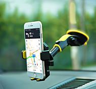 abordables -Accroche Support Téléphone Bureau Automatique Téléphone Portable Support Voiture Type de bâton Silicone ABS Accessoire de Téléphone
