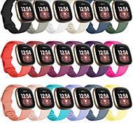 economico -Cinturino intelligente per Fitbit 1 pcs Cinturino di pelle Silicone Similpelle Sostituzione Custodia con cinturino a strappo per Fitbit Versa 3 Fitbit Sense