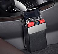 economico -Baseus magic borsa portaoggetti per auto porta cellulare in pelle porta cellulare auto organizer scatola appesa custodia accessori per interni styling auto nero