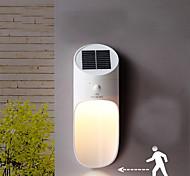 abordables -énergie solaire led micro-ondes capteur applique murale 15 led étanche extérieur puissance rue cour chemin chemin maison jardin lampe de sécurité