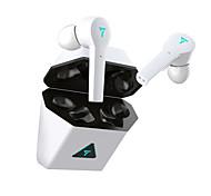 abordables -WAZA i38s Casque Gamer Bluetooth5.0 Stéréo LA CHAÎNE HI-FI Avec boîte de recharge Écouteurs sans fil de jeu à faible latence pour le jeu mobile pour Jeux Sport Fitness Téléphone portable Ordinateur