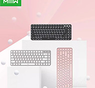 economico -Xiaomi MWXKT01 Modalità doppia cablata USB wireless Bluetooth tastiera ufficio Taglia piccola 85 pcs chiavi