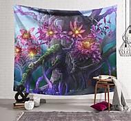 abordables -Tapisserie murale art décor couverture rideau suspendu maison chambre salon décoration arbre mort bourgeon polyester