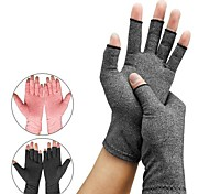 abordables -gants de pression de soins de santé en salle de sport pour hommes et femmes cyclisme demi-doigt anti-dérapant rééducation des articulations soins infirmiers gants gris de chanvre