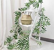 economico -piante artificiali plastica matrimonio vite muro fiore vite 1 bouquet 20 * 170 cm
