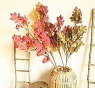 abordables -feuilles artificielles plantes décor à la maison décoratifs pour la maison fleurs artificielles feuilles plantes affichage