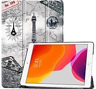 economico -telefono Custodia Per Apple Integrale iPad 7 (2019) 10,2 pollici iPad Pro (2018) 11 pollici iPad Pro (2020) 11 pollici Resistente agli urti Origami Torre Eiffel pelle sintetica