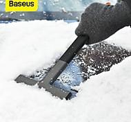 abordables -BASEUS 1 pc ABS Grattoir à verre Léger Noir