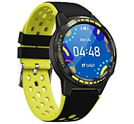 abordables -696 M7S Homme Montre Connectée Wi-Fi Bluetooth GPS Mesure de la pression sanguine Mode Mains-Libres Boussole Informations Podomètre Rappel d'Appel Trouver mon Appareil Fonction réveille Baromètre