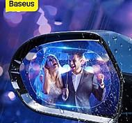 economico -BASEUS Trasparente Adesivi auto Normale Adesivi specchietto retrovisore Film per auto