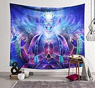 abordables -Tapisserie murale art décor couverture rideau suspendu maison chambre salon décoration magie portrait polyester